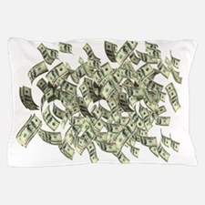 Raining BIG MONEY Pillow Case