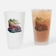 Bhujangasana - Yoga Cobra Pose Drinking Glass