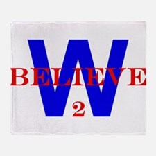 Believe2W.jpg Throw Blanket