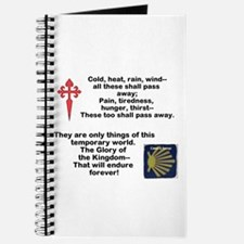 Camino Poem Journal