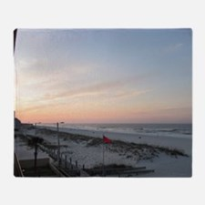 Gulf Shores Sunrise Throw Blanket
