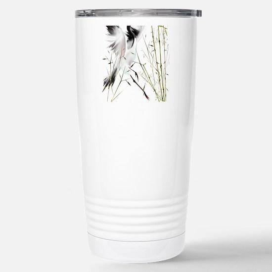 One Crane Trans.png Travel Mug