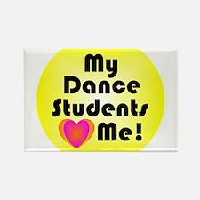 Cute Dance student Rectangle Magnet