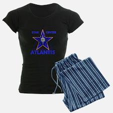 Star Center Atlantis Women's Dark Pajamas