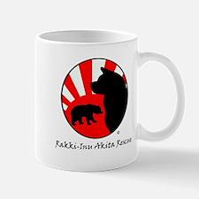 Bear Sun logo (light) Mugs