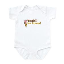 Yeah! Ice Cream! Infant Bodysuit