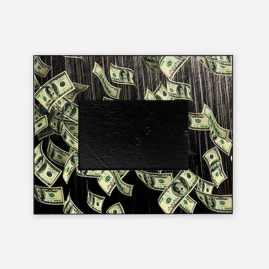 Raining Cash Money Picture Frame