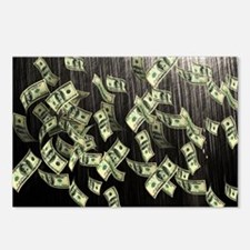 Raining Cash Money Postcards (Package of 8)