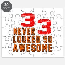 33 Never looked So Awesome Puzzle