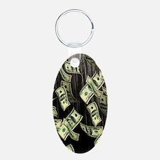 Raining Cash Money Keychains