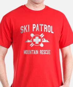 Ski Patrol - Mountain Rescue (vintage look) T-Shir
