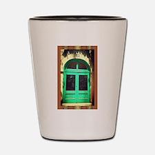 Door-earth-tone-art-Latino.jpg Shot Glass