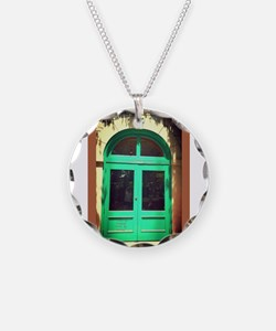 Door-earth-tone-art-Latino.j Necklace