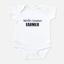 Worlds Greatest FARMER Infant Bodysuit