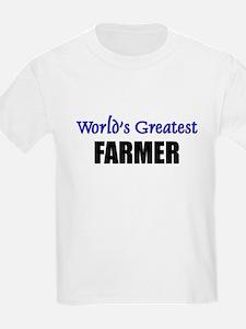Worlds Greatest FARMER T-Shirt