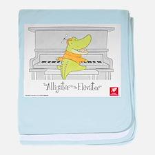 Baby Piano baby blanket