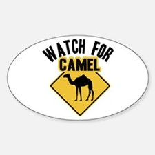 Watch For Camel Decal