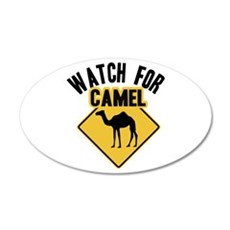 Watch For Camel Wall Decal