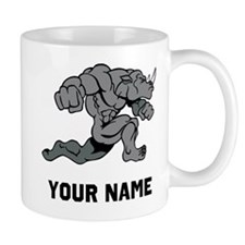 Rhino Running Mugs