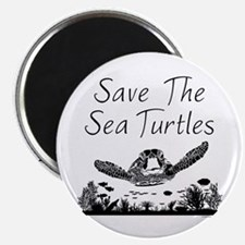 Save The Sea Turtles Magnets