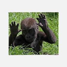 Gorilla20151002 Throw Blanket