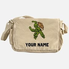 Turtle Mascot Messenger Bag