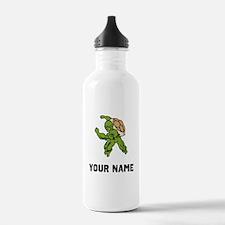 Turtle Mascot Water Bottle