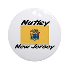 Nutley New Jersey Ornament (Round)