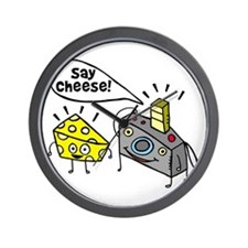 Say cheese!!! Wall Clock