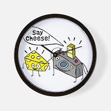 Say cheese!!! Wall Clock