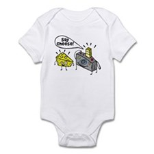 Say cheese!!! Infant Bodysuit