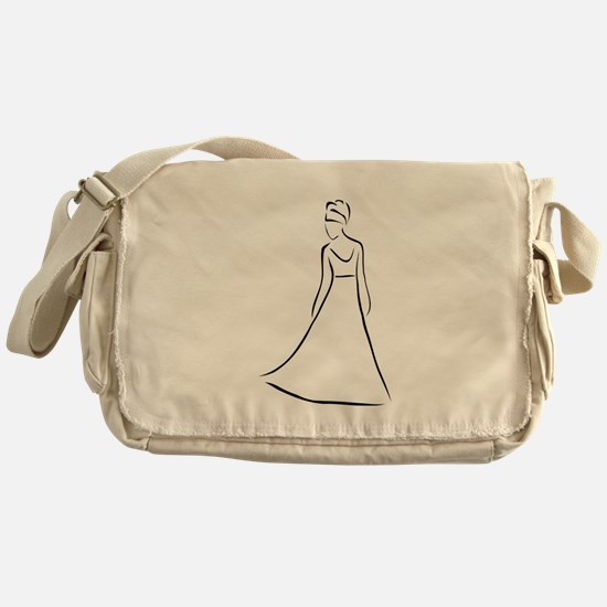 Funny Princess bride Messenger Bag