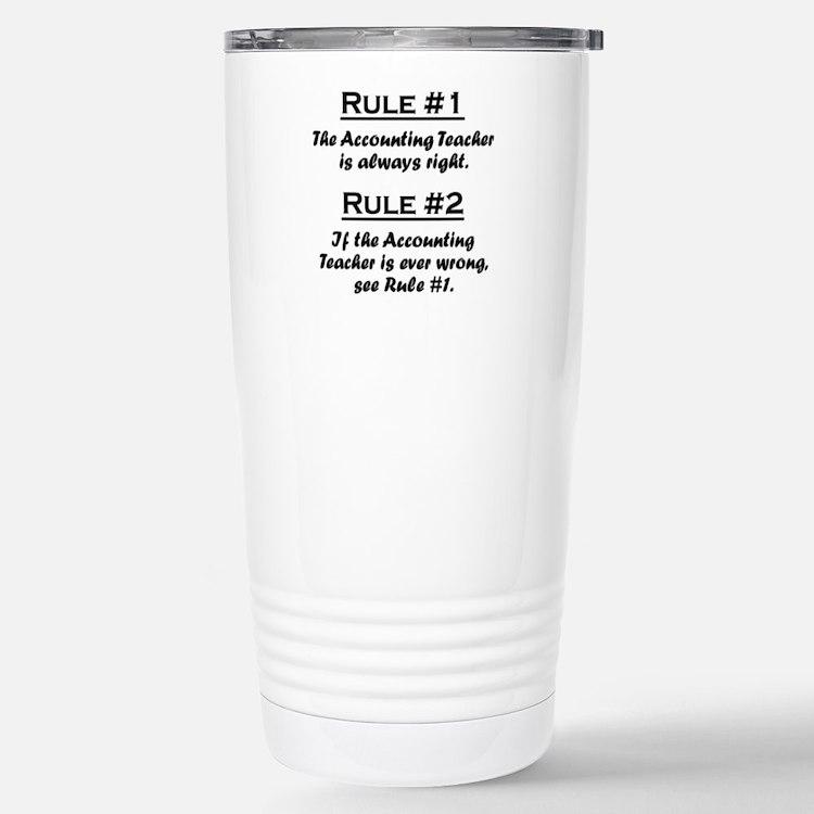 Cute Accounting 1 Travel Mug