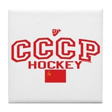 CCCP Soviet Hockey C Tile Coaster