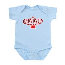 CCCP Soviet Hockey C Infant Bodysuit