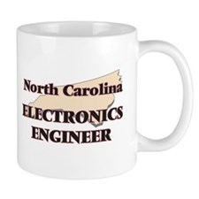 North Carolina Electronics Engineer Mugs