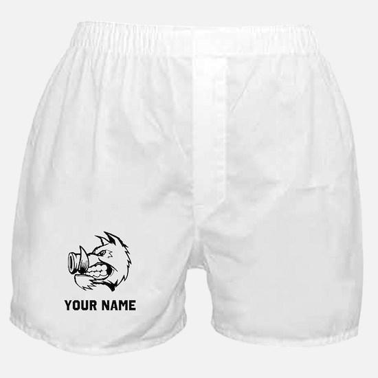 Razorback Boar Boxer Shorts