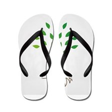 Cute Hairdressing Flip Flops