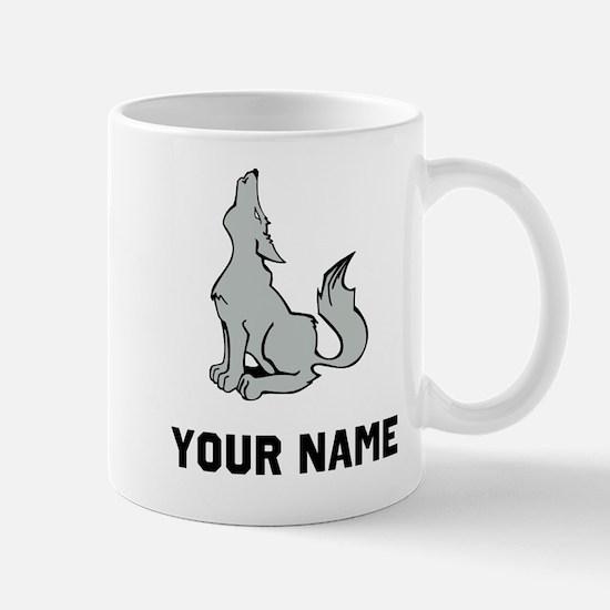 Coyote Howling Mugs