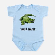 Green Alligator Body Suit