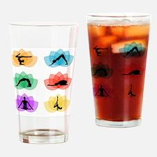 Funny Lotus massage Drinking Glass