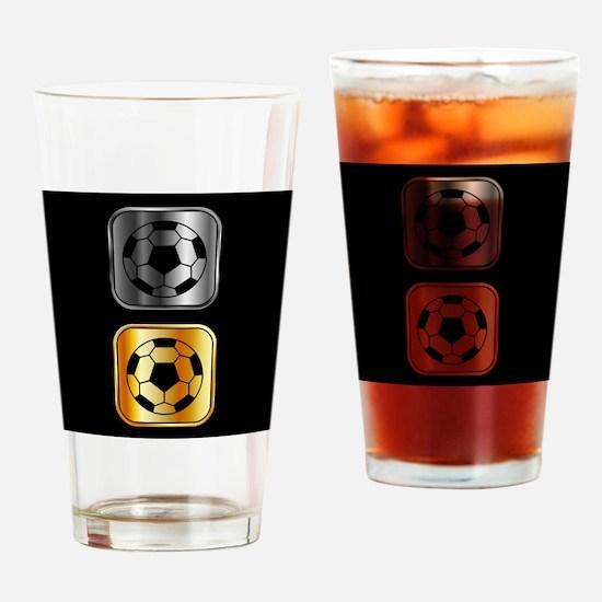 Unique Match Drinking Glass