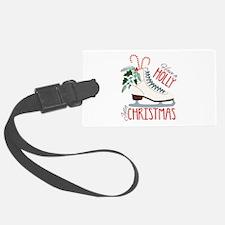 Holly Christmas Luggage Tag