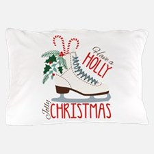 Holly Christmas Pillow Case