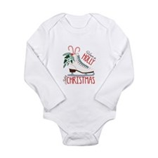 Holly Christmas Body Suit