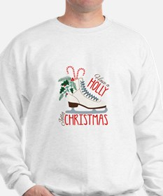 Holly Christmas Sweatshirt