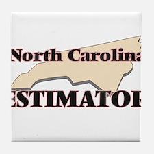 North Carolina Estimator Tile Coaster