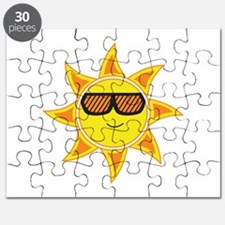 Sun With Glasses Puzzle