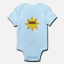 Sun With Glasses Body Suit