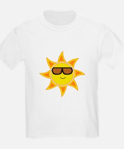 Sun With Glasses T-Shirt